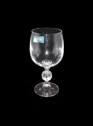 Bohemia white wine glass 1